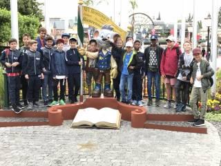 Chieminger D-Junioren zu Besuch in Ettenheim