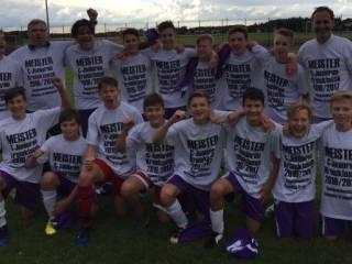 C-Junioren feiern Meisterschaft