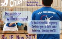 Einladung ChieMINTON 2017