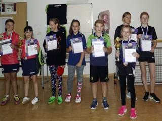 Wieder großer Erfolg für Chiemings Tischtennismädchen